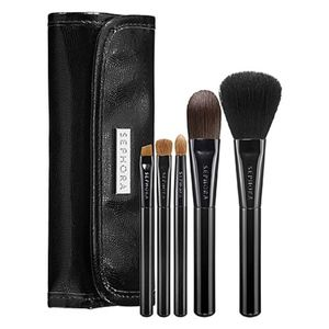 Sephora Skinny Makeup Brush Wrap Set in Black Onyx